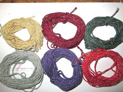 2mm Thick Cotton Bakers twine with Sparkle 5 or 10 metres